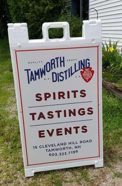 Tamworth Distilling aframe photo