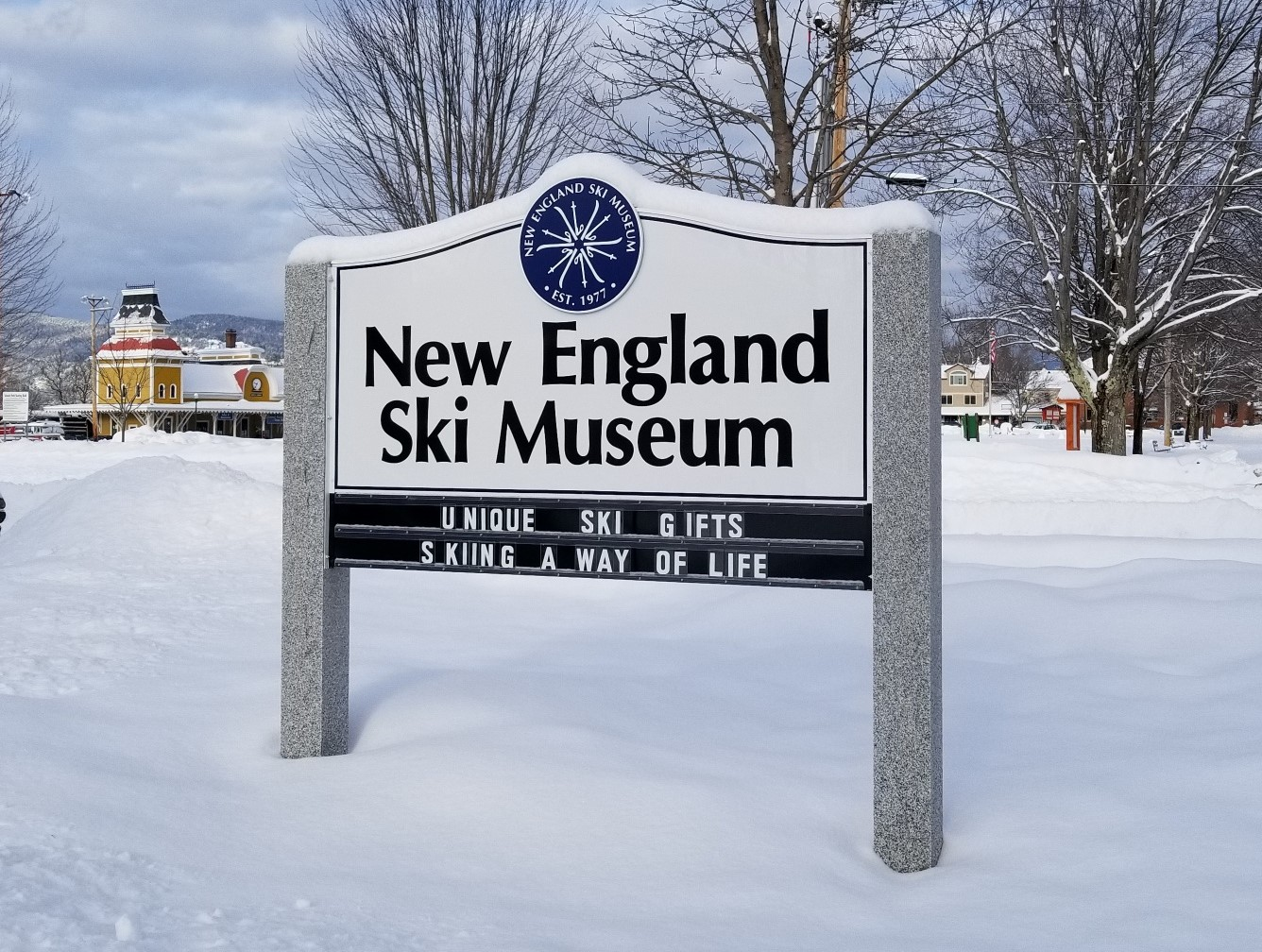 Ski Museum in winter