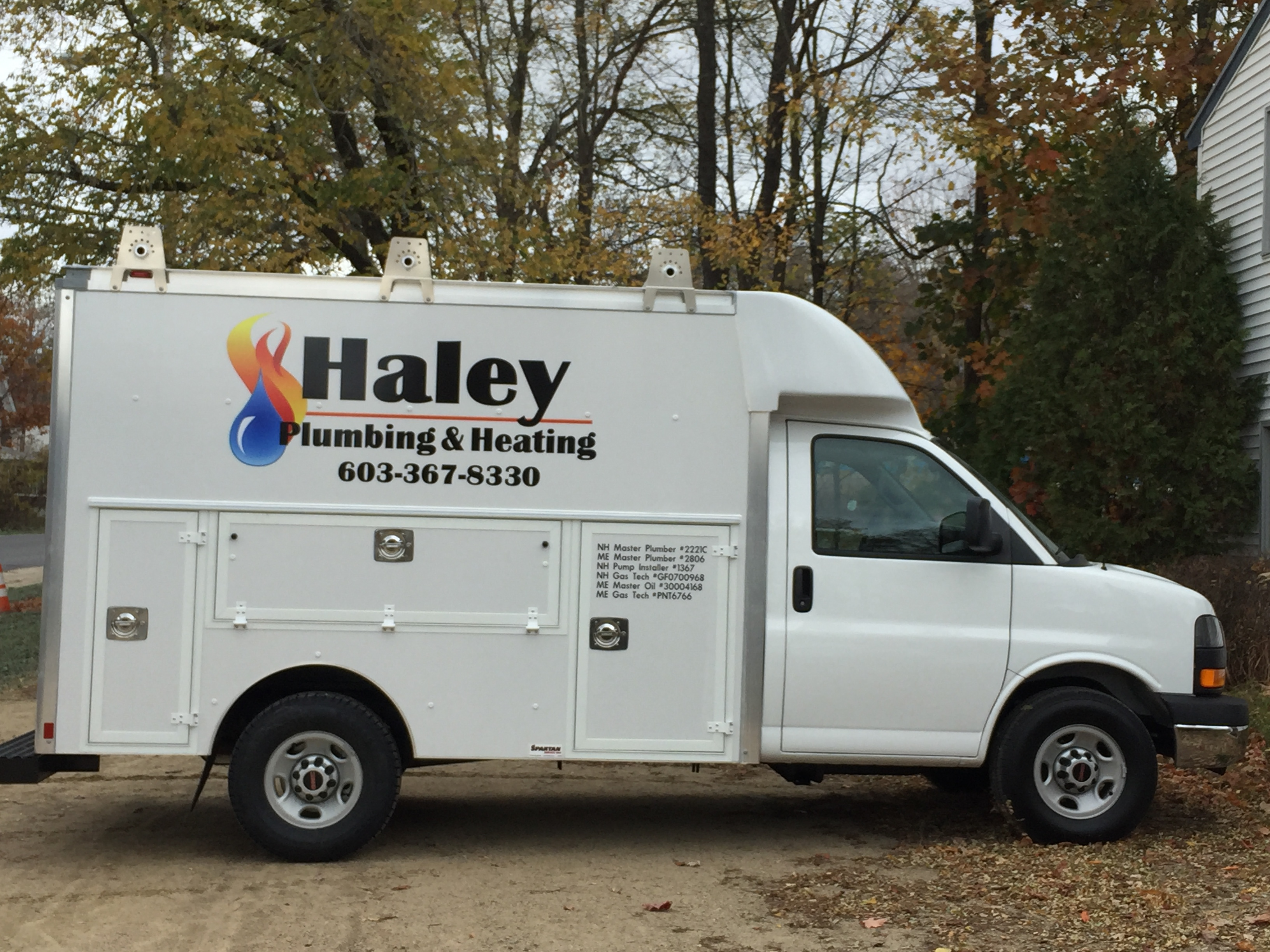 haley 2016 Box truck