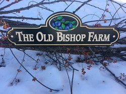 old bishop sign