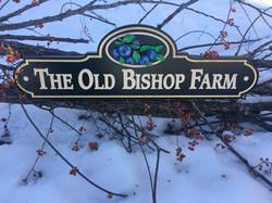 old bishop sign