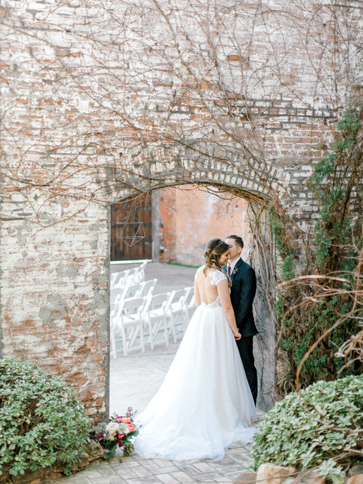 MR. + MRS. MYERS | MCKINNEY COTTON MILL WEDDING