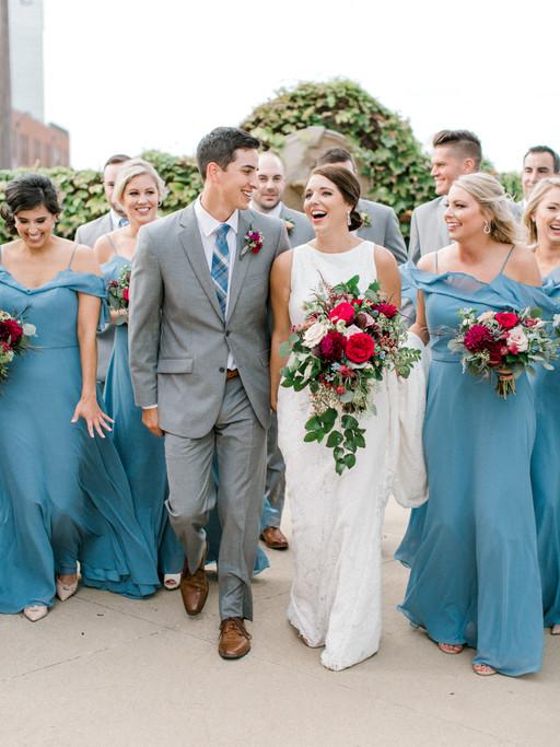 MR + MRS DEL HIERRO | ASHTON DEPOT FT WORTH WEDDING