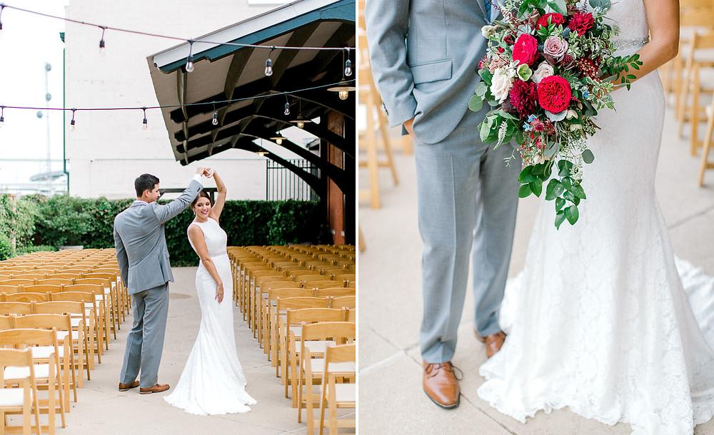 ashton depot wedding