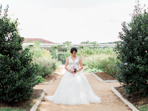 NYOMI | HERMANN PARK HOUSTON  BRIDAL SESSION