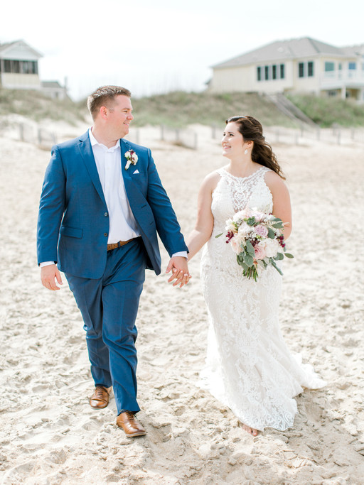 MR. + MRS. YAGER | COASTAL NAGS HEAD WEDDING