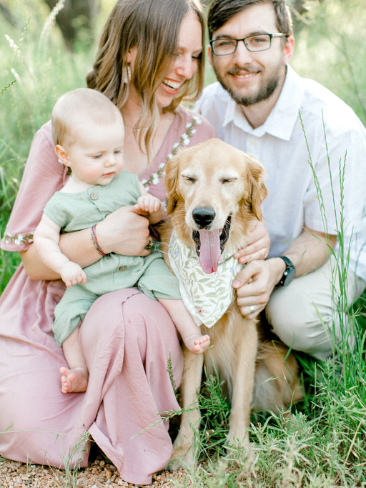 THE HICKS FAMILY | SPRING WILDFLOWER FAMILY SESSION