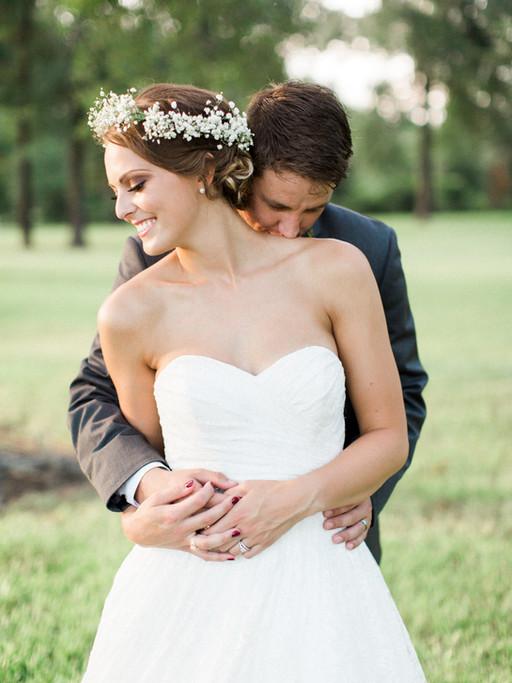 MR. + MRS. BECKHAM | BALMORHEA EVENTS MAGNOLIA TX WEDDING