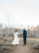 MR + MRS MARTIN | CRESTED BUTTE, COLORADO MOUNTAIN WEDDING