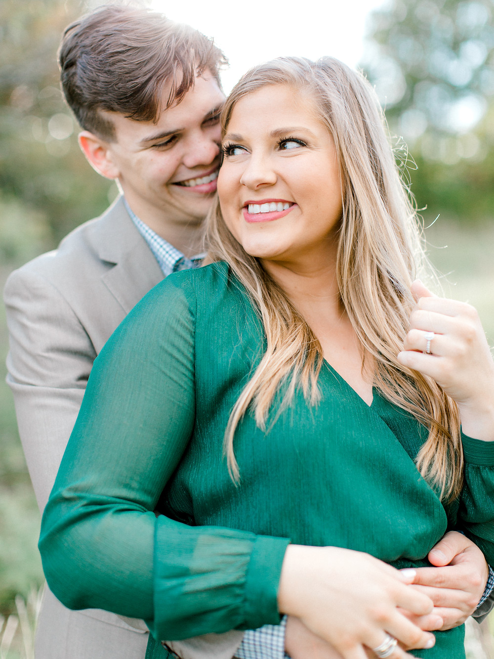 plano engagement session