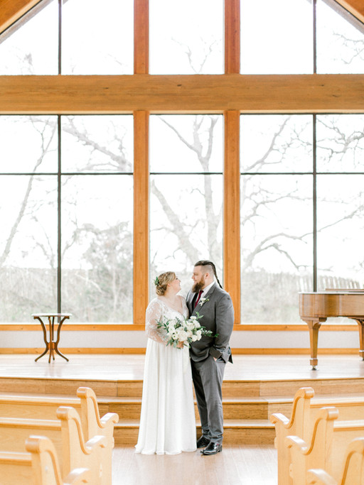MR + MRS SCHWENKE | HARMONY CHAPEL AUBREY WEDDING
