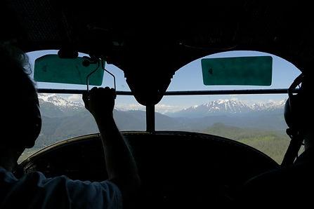 Grumman Goose Flight Instruction Cockpit