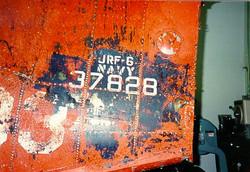 Original Bureau of Aeronautics Number