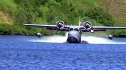 Landing on Crescent Lake