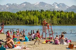 A warm Alaska summer day