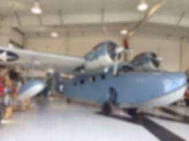 Flight Instruction Grumman Goose Hangar
