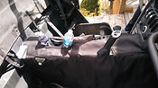 CANAM insulated heat shield/ reflective console cover