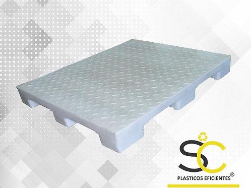 Pallet Plastico 100x120x17 cm