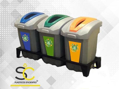 Punto de Reciclaje 65 Litros