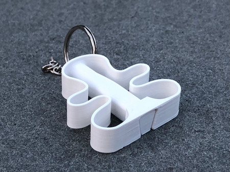 """COVID """"No Touch"""" Keychain"""