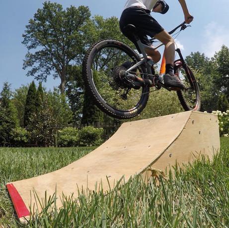 Portable Bike Ramp