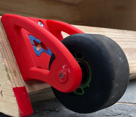 3D Printed Casters