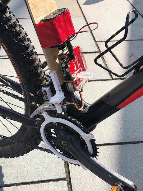 Bicycle Shifting Indicator