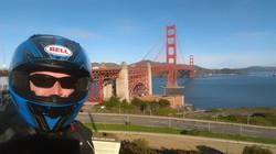 Golden Gate selfie