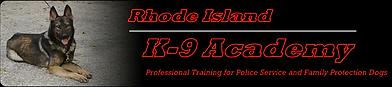 RI K-9 Academy