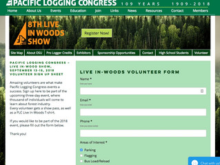Volunteers Needed for the PLC Live In-Woods Show