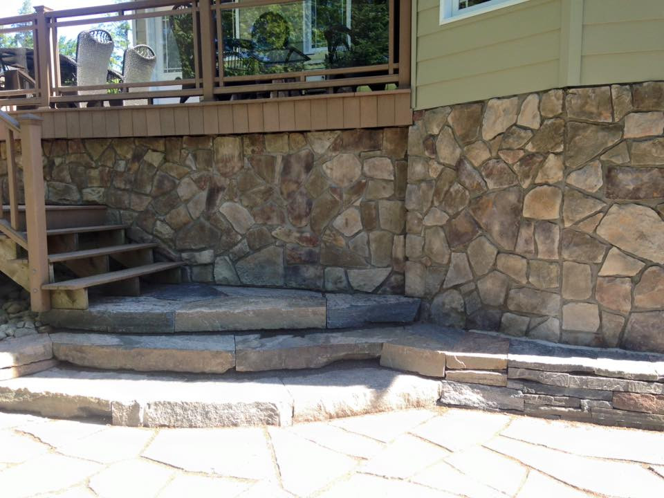 stone stacking & stairs