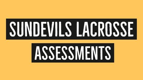 2020 Assessment Week: March 23 – 26