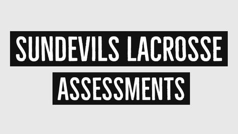 2019 Assessments start Monday, March 18