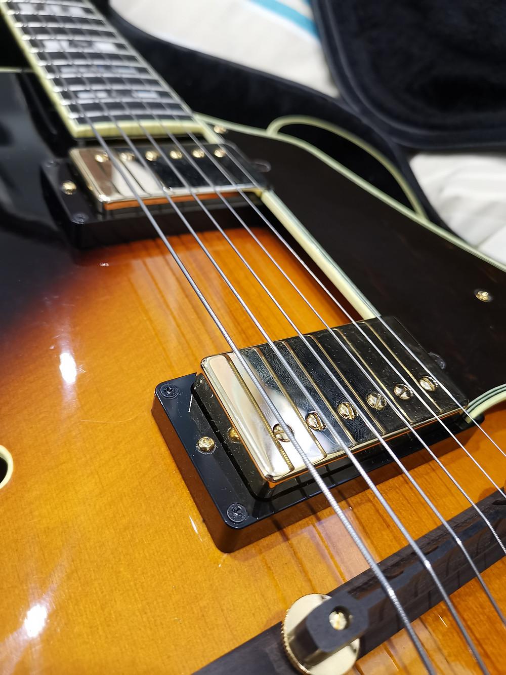 Ibanez Af-200, Radioshop, Pickups, Upgrade, Jazz, 'The Electric Spanish PAF', Luthier