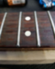 Spot Fret dress, Fixes Buzzing on one area f fretboard inparticular