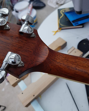 Broken Headstock Fix, Like new, Headsotck repairs are strong