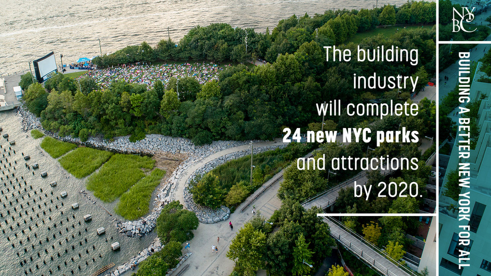 24 New NYC Parks