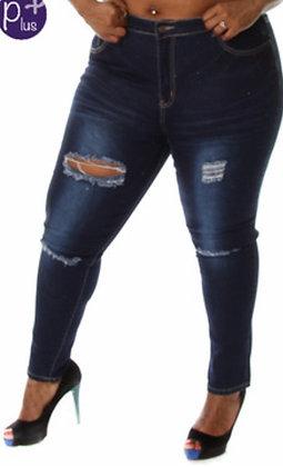 Ripped Skinny Jean