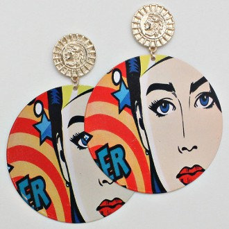 Comic Earring