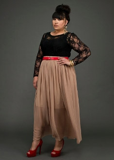 YK Goddess Maxi Skirt