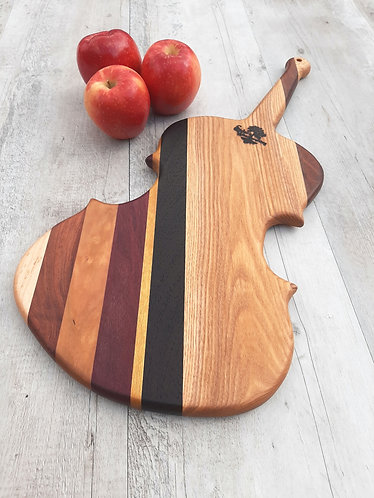 Large Violin Cutting Board