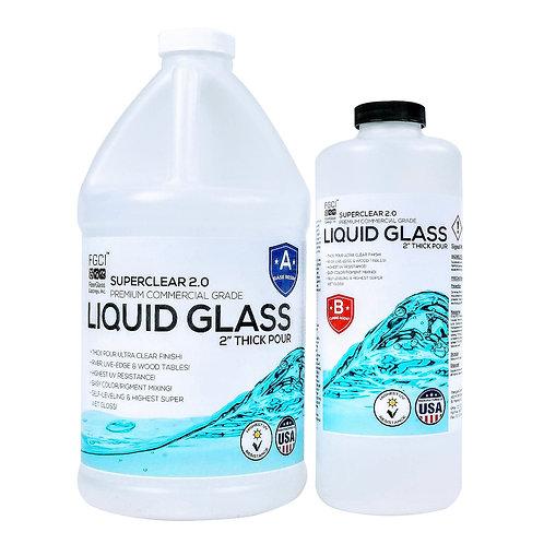 Liquid Glass Deep Pour Epoxy Resin – .75 Gallon Kit