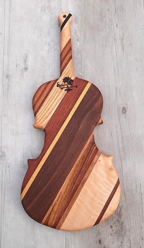 Small Violin Cutting Board