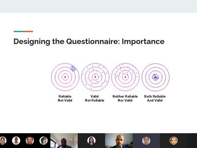 Designing a questionnaire
