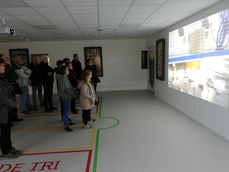 Beaucoup d'enthousiasme des 25 Fleurinois lors de la visite du centre de retraitement des déchet