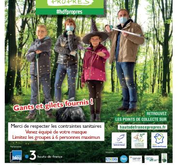 Fleurinois, l'opération de nettoyage des abords du village du 21 mars est ANNULEE!