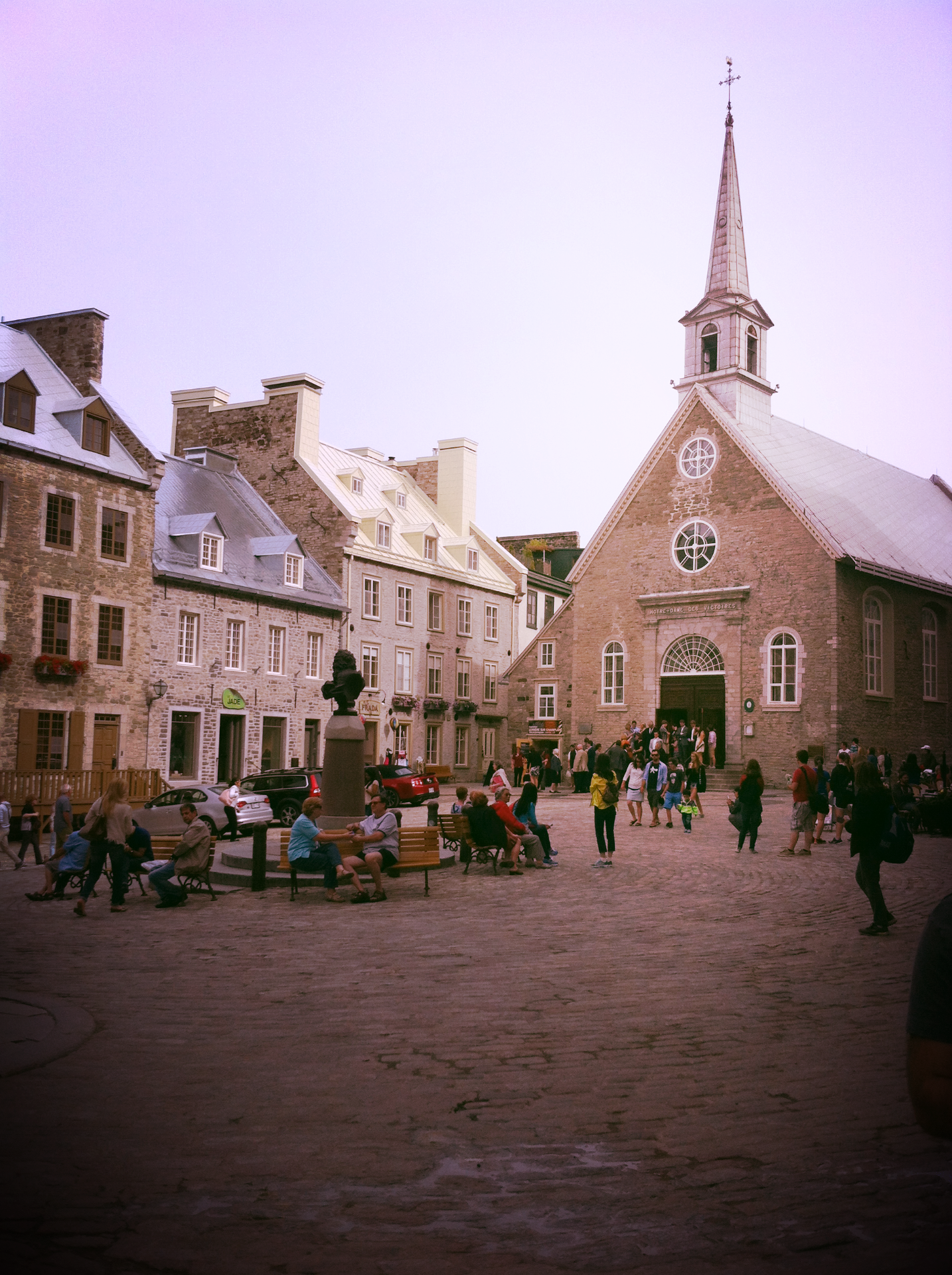 Walking tour of Quebec City