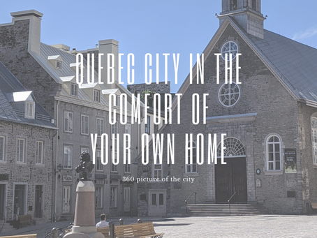Quebec in the comfort of your own home