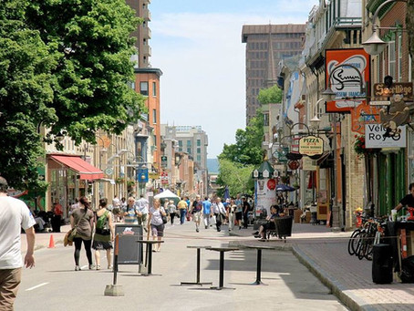 Best shopping streets in Quebec city