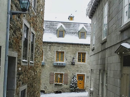 Winter is here! Things to do in Quebec city in wintertime!